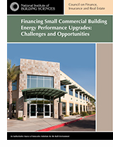 Financing Small Commercial Building Energy Performance Upgrades