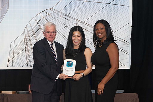 Ruth Chao of Delta Electronics accepting award