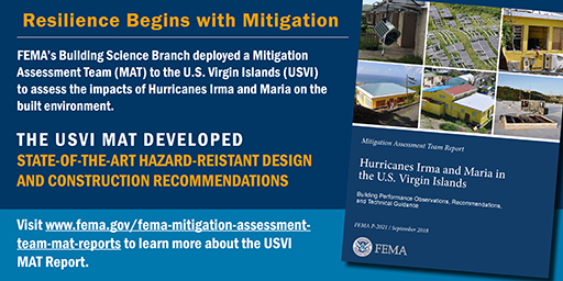 FEMA USVI Report Promotion